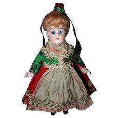 German All Bisque Doll All Original