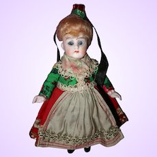 German All Bisque Doll All Original