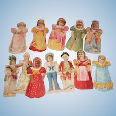 1895 Barbours Irish Thread Paper Dolls