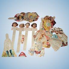 Paper Dolls None Such Mince Meat Dolls