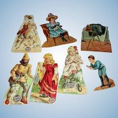 Lion Coffee Paper Dolls set