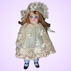 German All bisque Doll Marked 5052