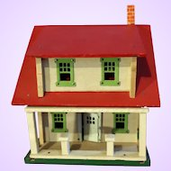 Schoenhut Home Builder Toy House Jefferson