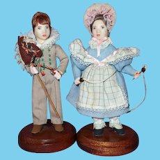 Teresa Thompson Historical Artist Dolls