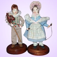 Teresa Thompson Historical Artist Dolls