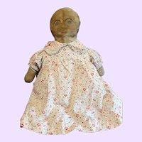 Chubby Folk Art Cloth Doll