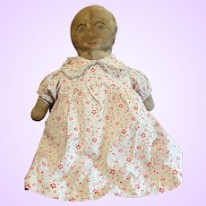 Chubby Folk Art Cloth Doll