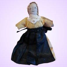 Tiny Early Cloth Folk art doll