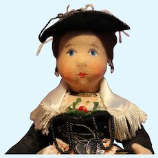 Cloth Doll from City of Paris Store