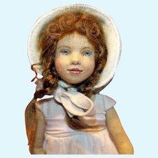 Meadow Cloth Artist Doll Maggie Iacono