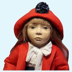 Jacyln Maggie Iacano cloth artist doll