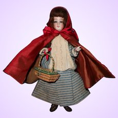 Little Red Riding Hood Candy Container Doll