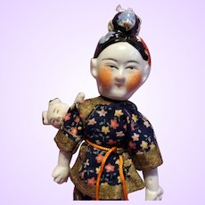 Chinese Doll and baby