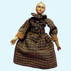 Early Wood Doll unusual