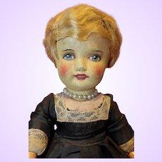 Cloth Mask face Doll