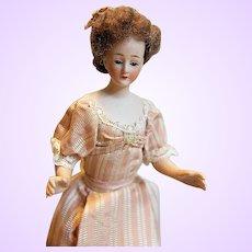 Karl Schirmer German Bisque 10 inch Doll