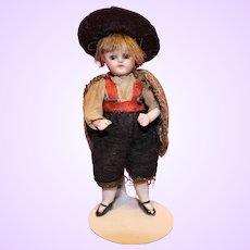 German All bisque boy all original