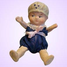 Paper Mache Bathing doll