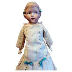 Unusual Gebruder Heubach bisque Doll
