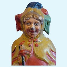 Schoenhut Rolly-Dolly Jester Character Paper mache