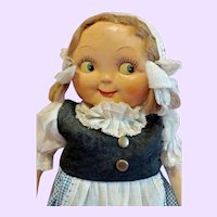 Two Faced German Googly Doll