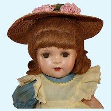 Flora McFlimsey Madame Alexander Composition Doll