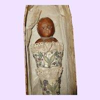 Wax Swaddling Doll in Original box
