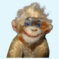 Mungo Steiff cutest Multi colored monkey