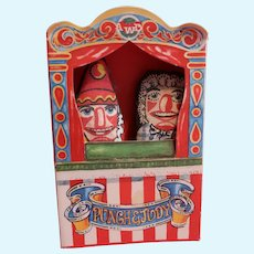 Punch and Judy finger puppets Anne Wilkinson