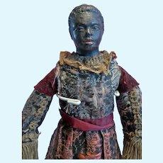 Mid 1800 Black Male Doll