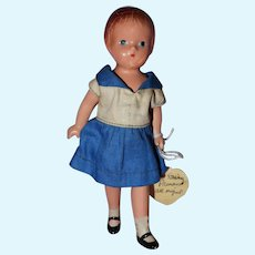 Wee Patsy in Sailor Dress