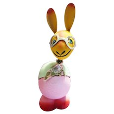 Easter Bunny Rabbit Candy Container