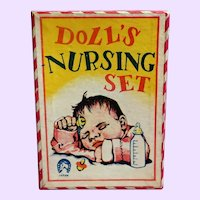 Doll's Nursing Set in original box