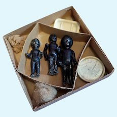Black Frozen Charlottes Bathing set