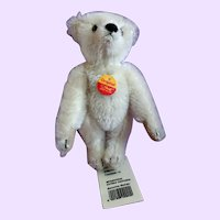 Steiff White Mohair Teddy Bear