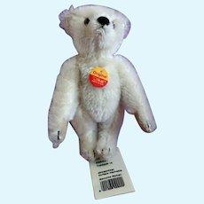 Steiff White Mohair Teddy Bear