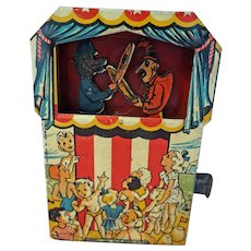 Punch and Judy Metal tin Bank