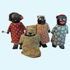 Four Ramp Walker Black dolls