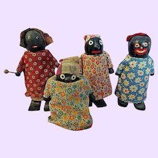 Four Ramp Walker Black dolls