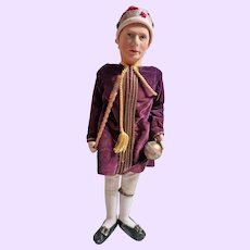 King George the VI Alpha Farnell Cloth doll