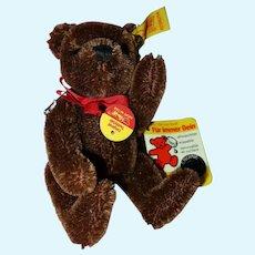 Steiff Small Brown teddy Bear tagged