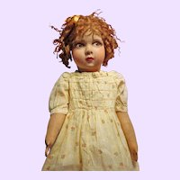 Cloth Raynal Doll made in France
