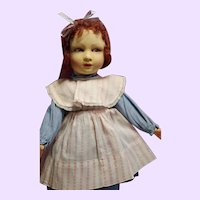 Raynal Cloth Doll made in France