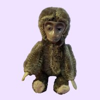 Schuco Monkey Germany mohair tiny