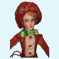 German Bed boudoir doll all original