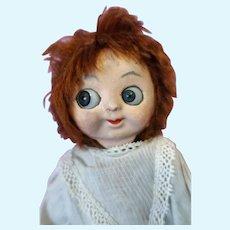 Googly mask Face hug me kiddies doll