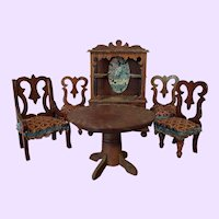 Small Doll Wood Furniture set