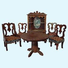 Small Doll Wood Furniture set