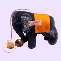 Small Steiff Elephant in original box