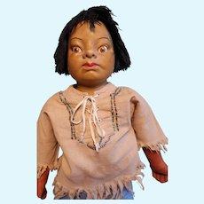 Rare WPA Milwaukee Helen Clark Indian Doll